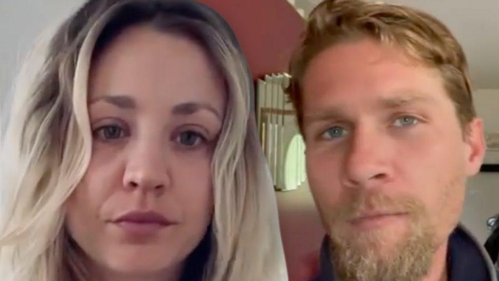 Kaley Cuoco Comments Hearts on Estranged Husband's Photo