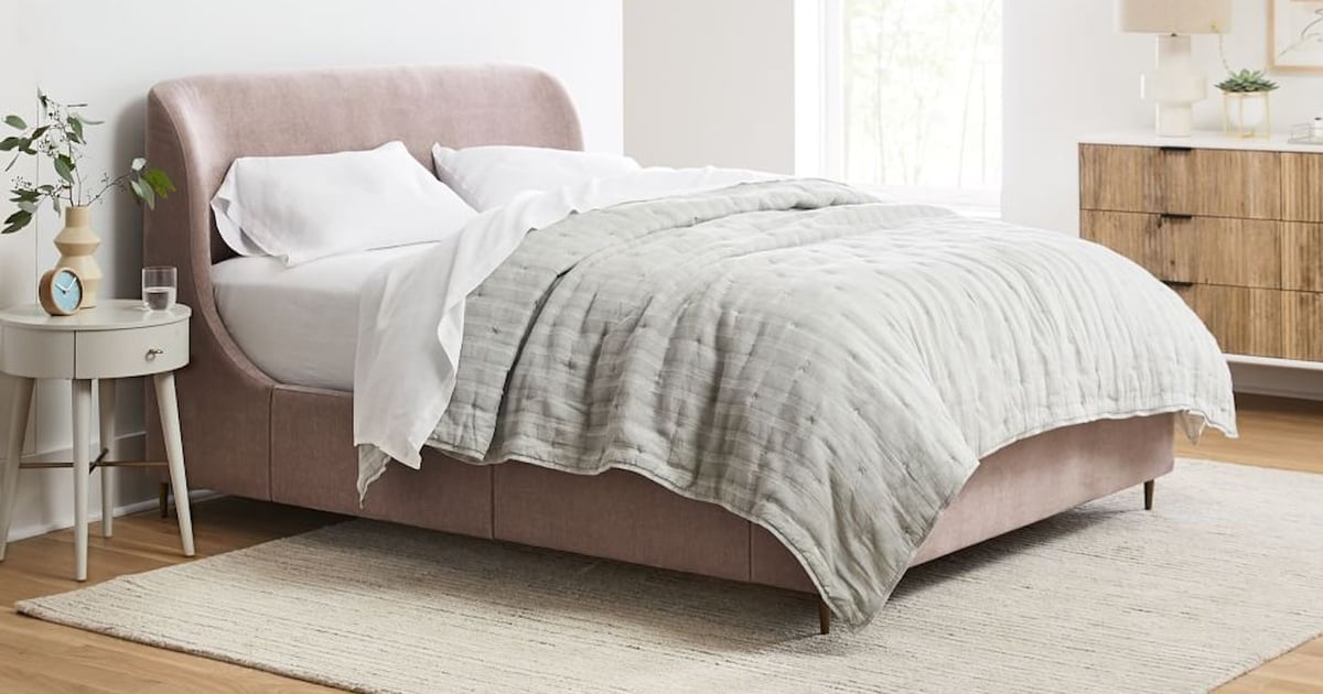 10 Stunning Beds From West Elm That Will Make You Want to Take a Nap ASAP