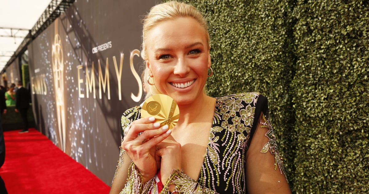 Paralympian Jessica Long Had the Brightest Accessory at the Emmys: Her Tokyo Gold Medal