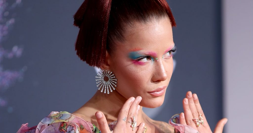 Halsey's Face Tells a Gothic Love Story in New IICHLIWP Behind-the-Scenes Beauty Photos