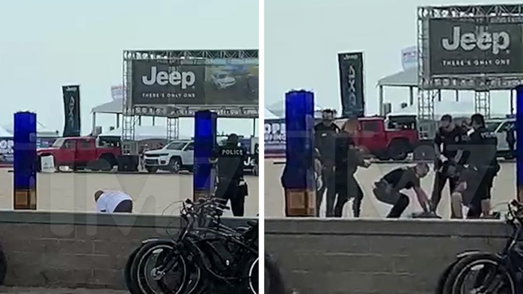 Man Unloaded On in Point Blank Police Shooting at Huntington Beach Pier