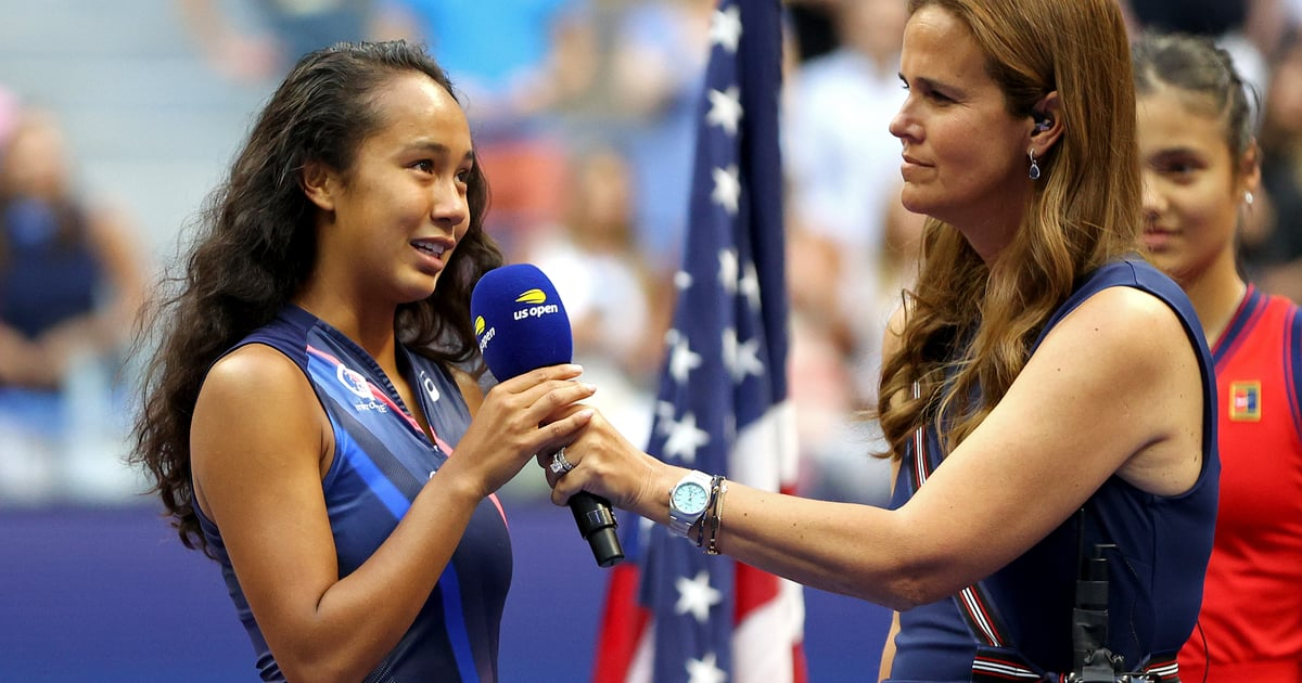 Watch US Open Finalist Leylah Fernandez Address the New York Crowd on 20th 9/11 Anniversary