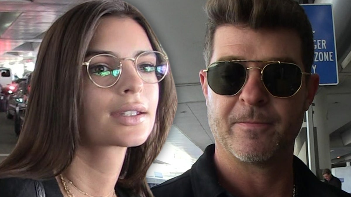 Emily Ratajkowski Claims Robin Thicke Groped Her Breasts During 'Blurred Lines'