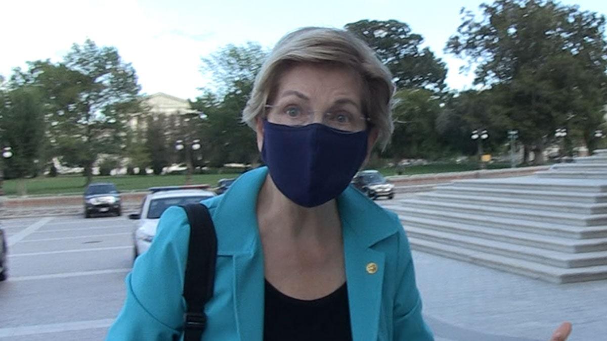 Sen. Elizabeth  Warren Praises FB Whistleblower, Says She's Saving Democracy