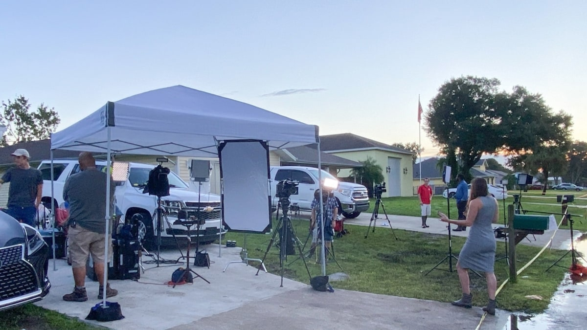 Brian Laundrie's Neighbors Charging Media $3500 Per Week to Rent Lawn Space