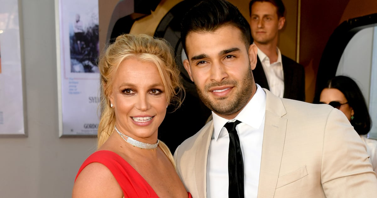 Surprise! Sam Asghari Got Britney Spears the Most Adorable Doberman Puppy