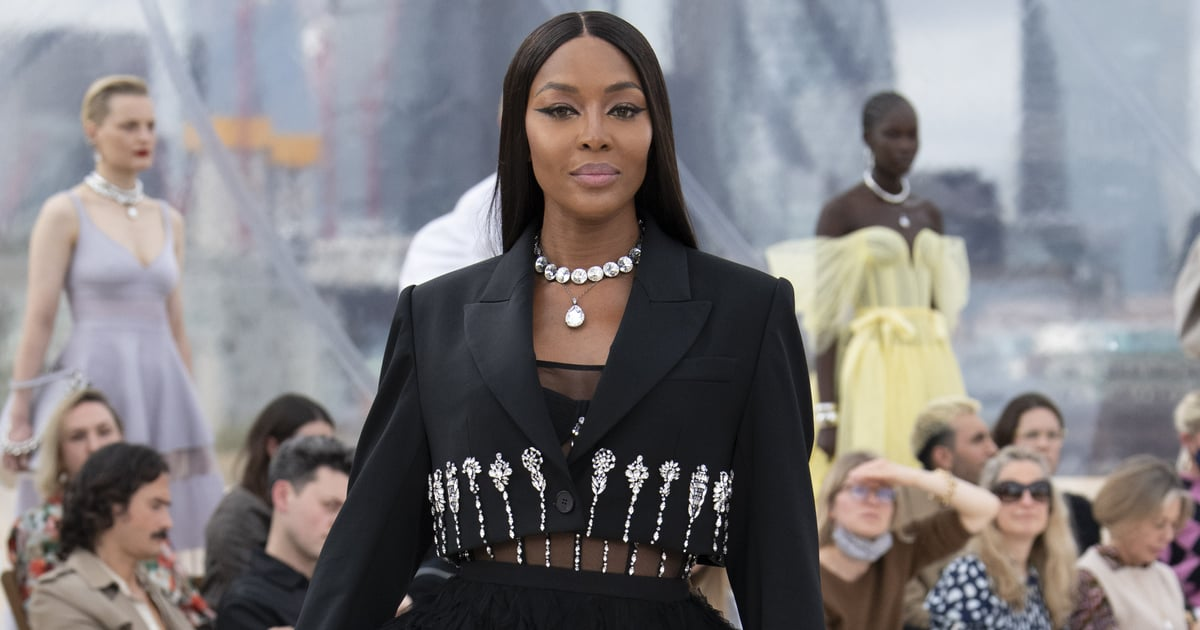 Naomi Campbell Closes Alexander McQueen's Secret Spring/Summer 2022 Show